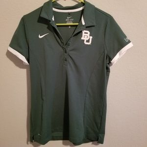 Baylor Nike Dry Fit Polo Size L